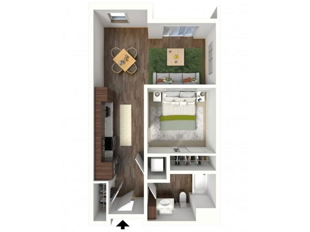 Floor Plan A3.1 | Jade at North Hills | Apartments in Menomonee Falls, WI