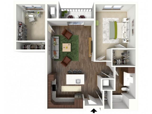 Floor Plan C2 | Jade at North Hills | Apartments in Menomonee Falls, WI