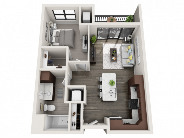 Floor Plan B5 | Synergy at the Mayfair Collection | Apartments in Wauwatosa, WI