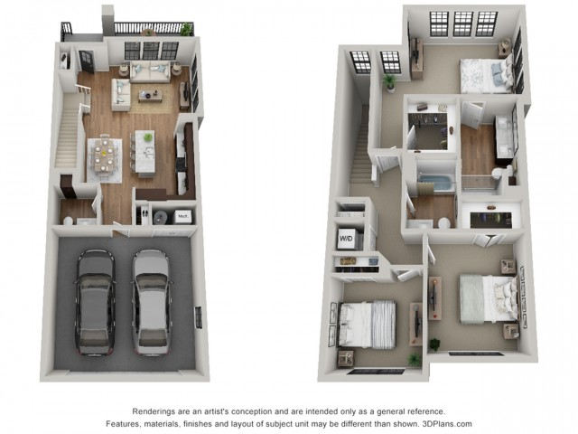 Floor Plan 3T | Arrabelle Apartments | Apartments in Cedarburg, WI
