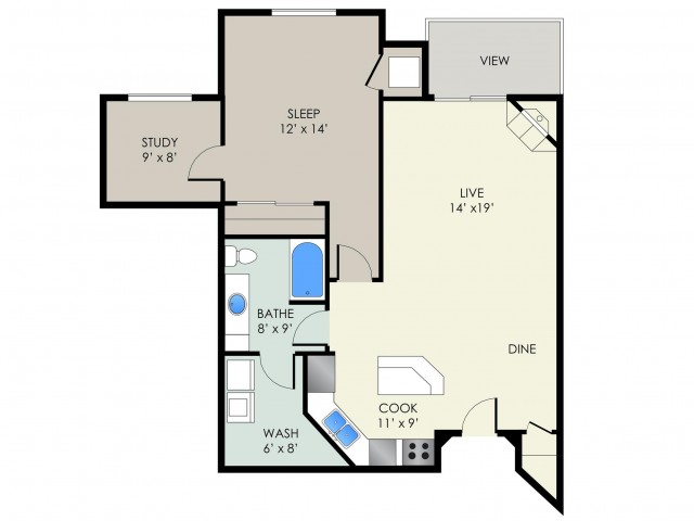 The Langdon Floor Plan