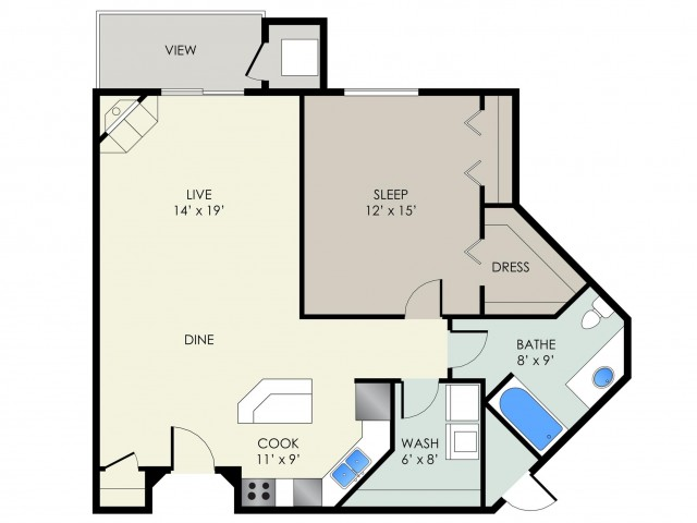 The Birge Floor Plan