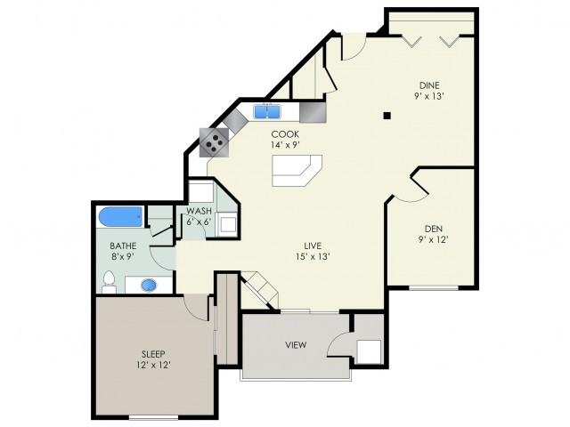 The Regent Floor Plan