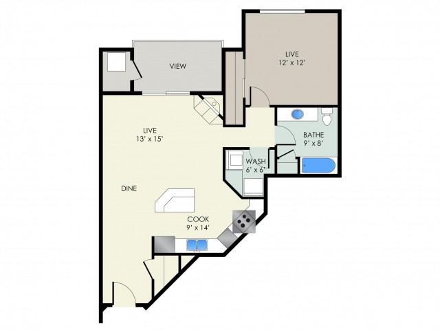 The Vanhise | The Landmark at Hatchery Hill | Apartments in Fitchburg, WI