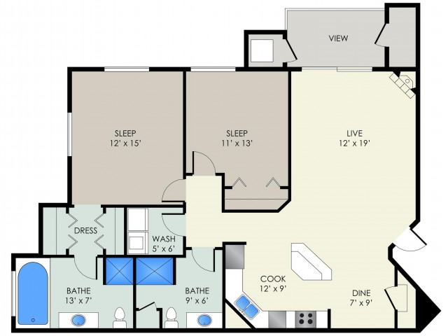 The Chadbourne Floor Plan