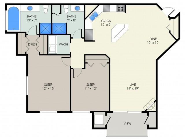 The Chadbourne II Floor Plan