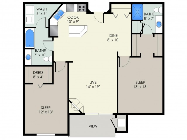 The Peterson Floor Plan