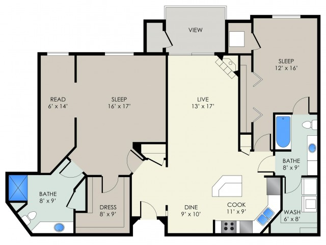 The Observatory | The Landmark at Hatchery Hill | Apartments in Fitchburg, WI