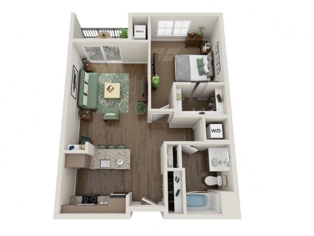 Hendrix | The Bevy | Apartments in Brown Deer, WI