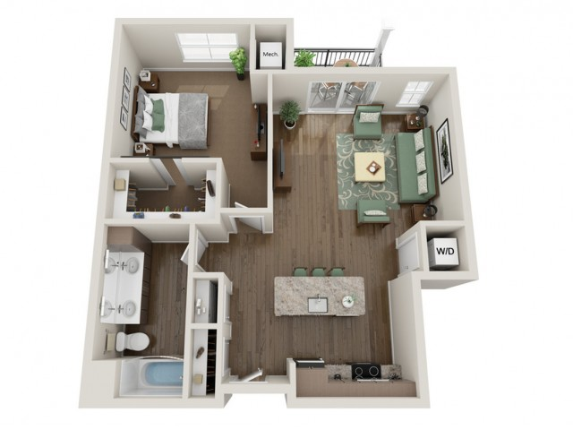 The Edge | The Bevy | Apartments in Brown Deer, WI
