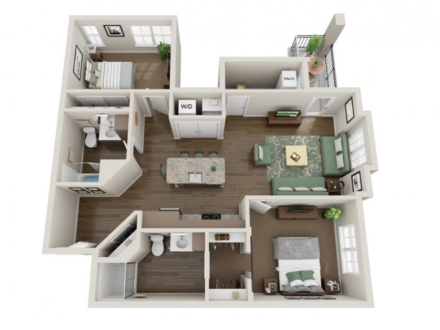 Townsend | The Bevy | Apartments in Brown Deer, WI