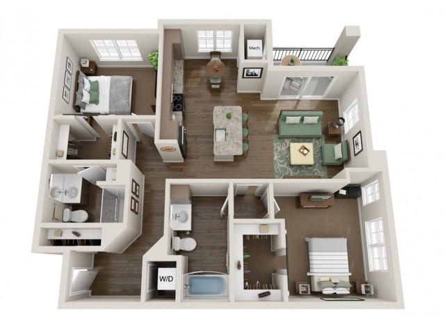 Vaughan | The Bevy | Apartments in Brown Deer, WI