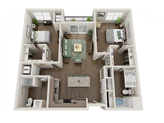 Beck | The Bevy | Apartments in Brown Deer, WI