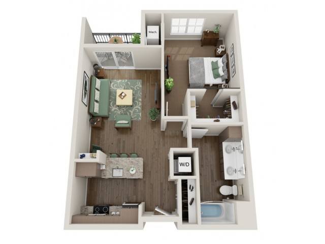 Clapton | The Bevy | Apartments in Brown Deer, WI