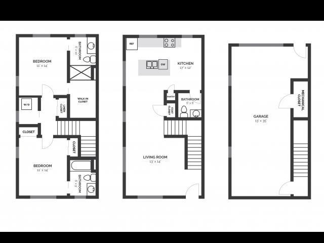 2D Floorplan T3