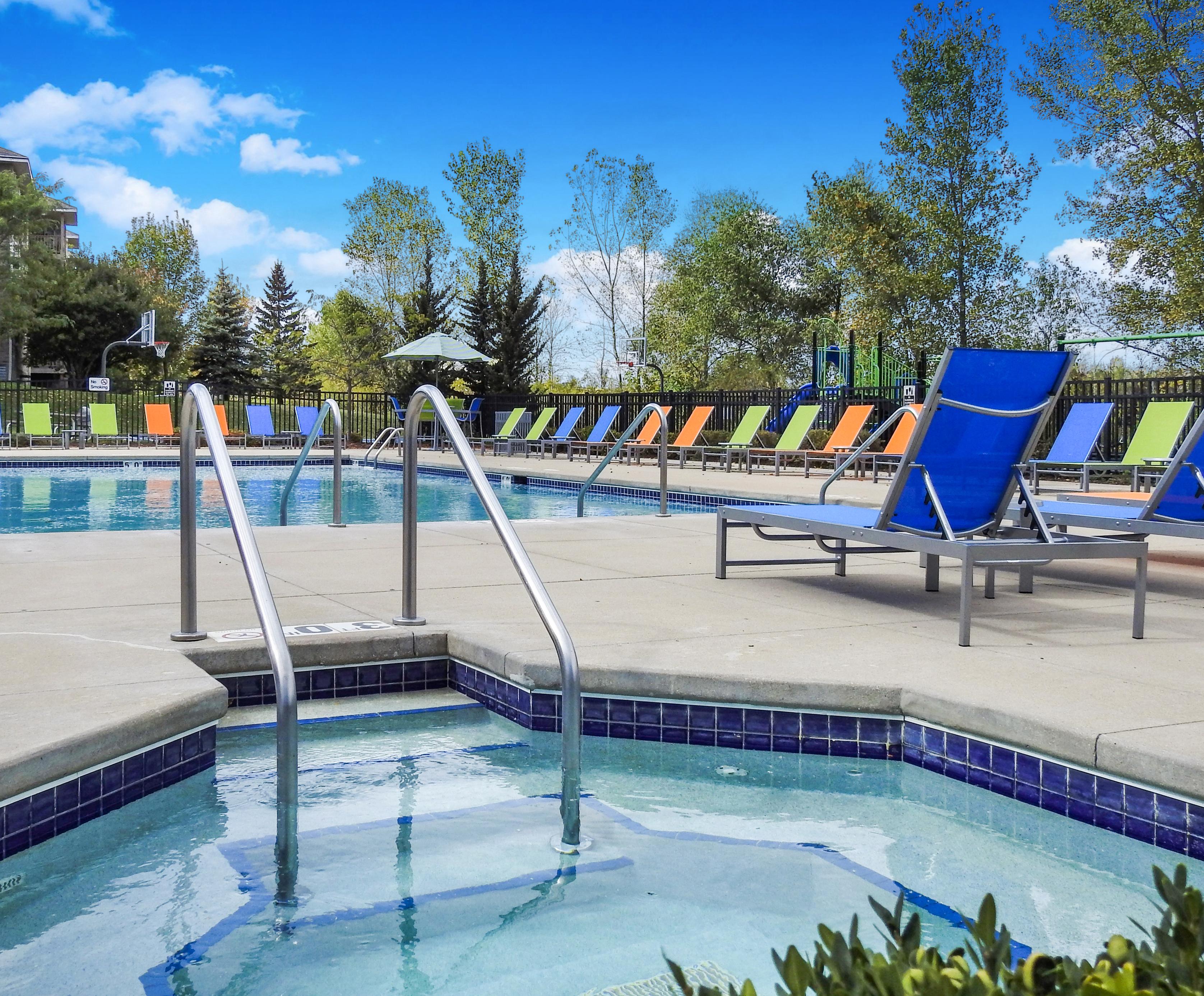Heated Pool | 2 Bedroom Apartments in Pewaukee | Saddle Brook Apartments