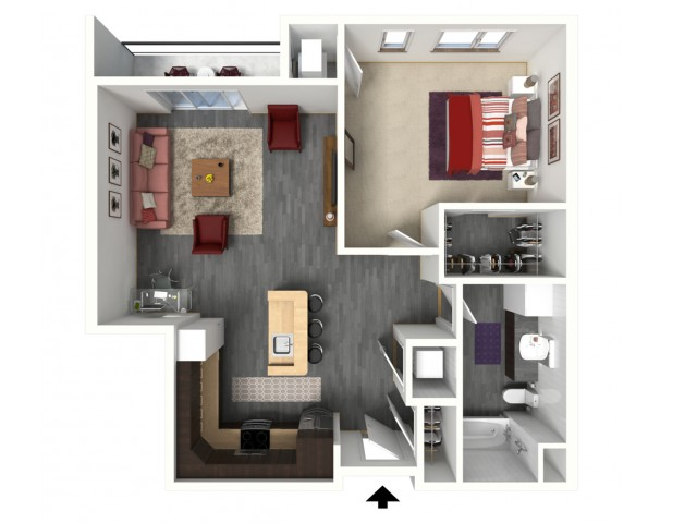 B3 | 1505 Apartments & Townhomes