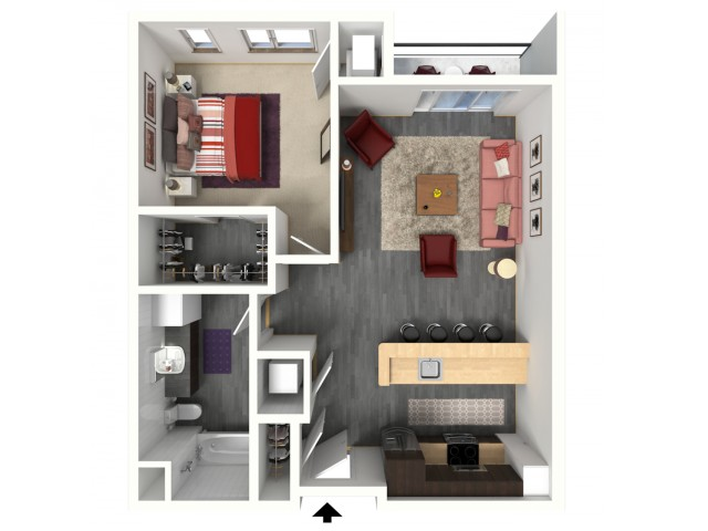 B2.1 | 1505 Apartments & Townhomes