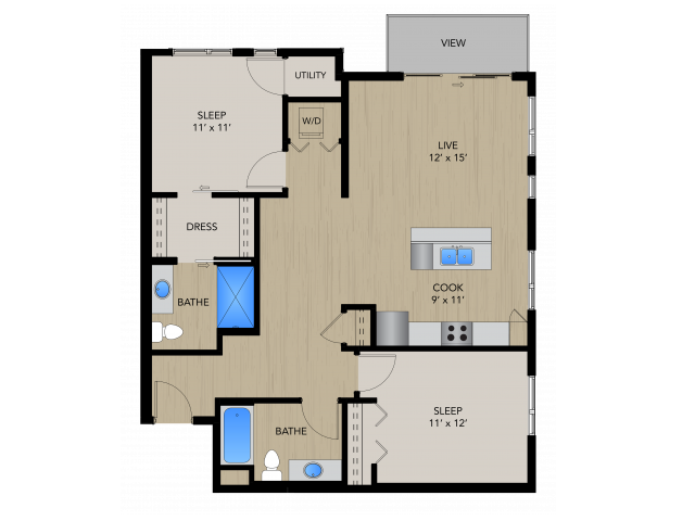 2C | 1505 Apartments & Townhomes