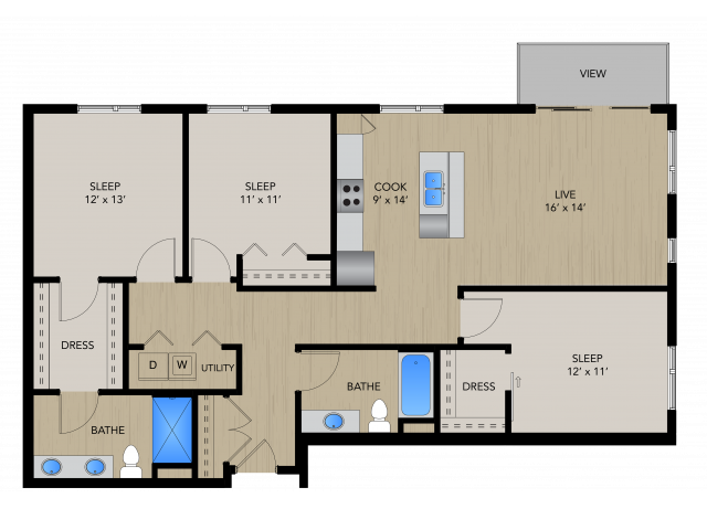 3A | 1505 Apartments & Townhomes