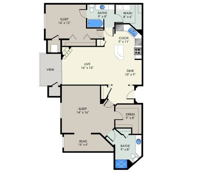 The Observatory II | The Landmark at Hatchery Hill | Apartments in Fitchburg, WI