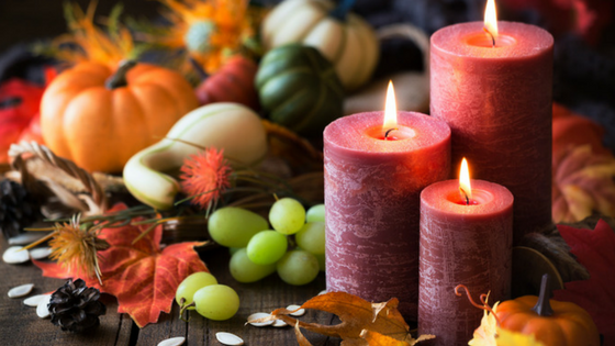 Thanksgiving Scented Candles, Oh My!