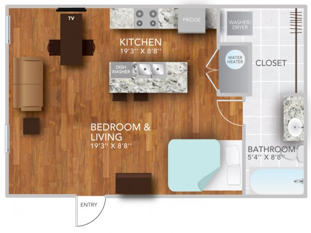 SIV | Fayetteville Arkansas Apartments | Atmosphere Apartments