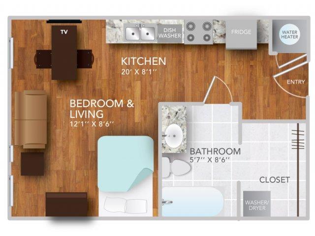SI| Fayetteville Arkansas Apartments | Atmosphere Apartments