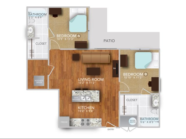 BIII | Fayetteville Arkansas Apartments | Atmosphere Apartments