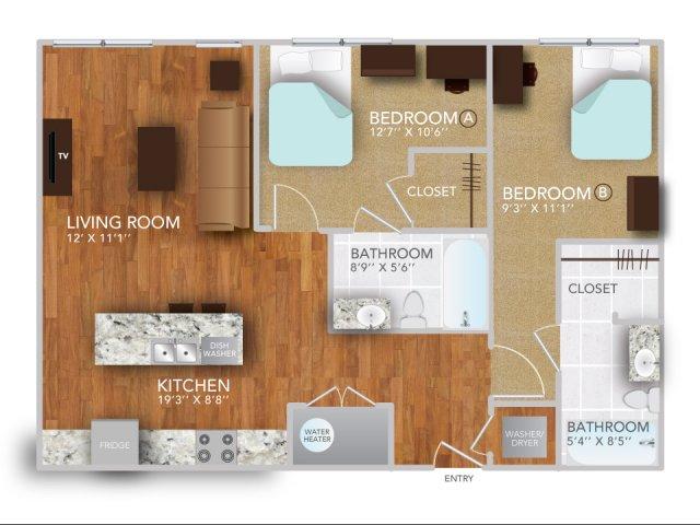 BIV | Fayetteville Arkansas Apartments | Atmosphere Apartments