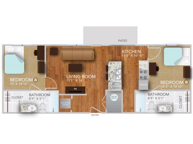 BVI | Fayetteville Arkansas Apartments | Atmosphere Apartments