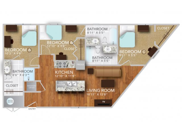 CI | Fayetteville Arkansas Apartments | Atmosphere Apartments