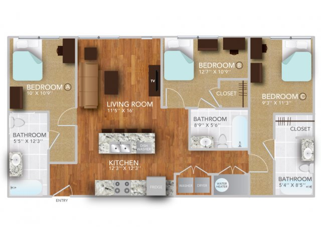 CII | Fayetteville Arkansas Apartments | Atmosphere Apartments