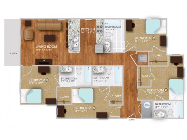 DIV | Fayetteville Arkansas Apartments | Atmosphere Apartments