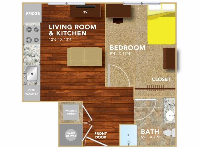 Floor Plan 1   Lincoln Student Housing   8   N Lofts