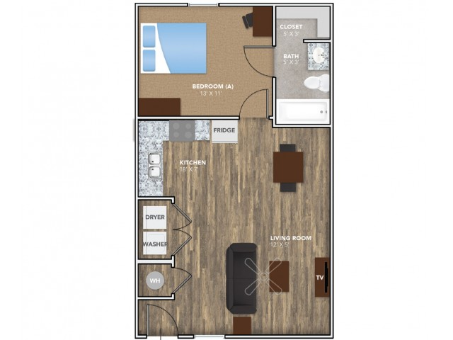 Layout 1 | Student Housing for Rent in Oxford OH | Annex