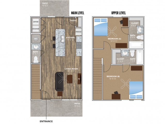Layout 2 | Student Housing for Rent in Oxford OH | Annex