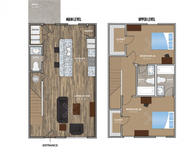 Layout 3 | Student Housing for Rent in Oxford OH | Annex