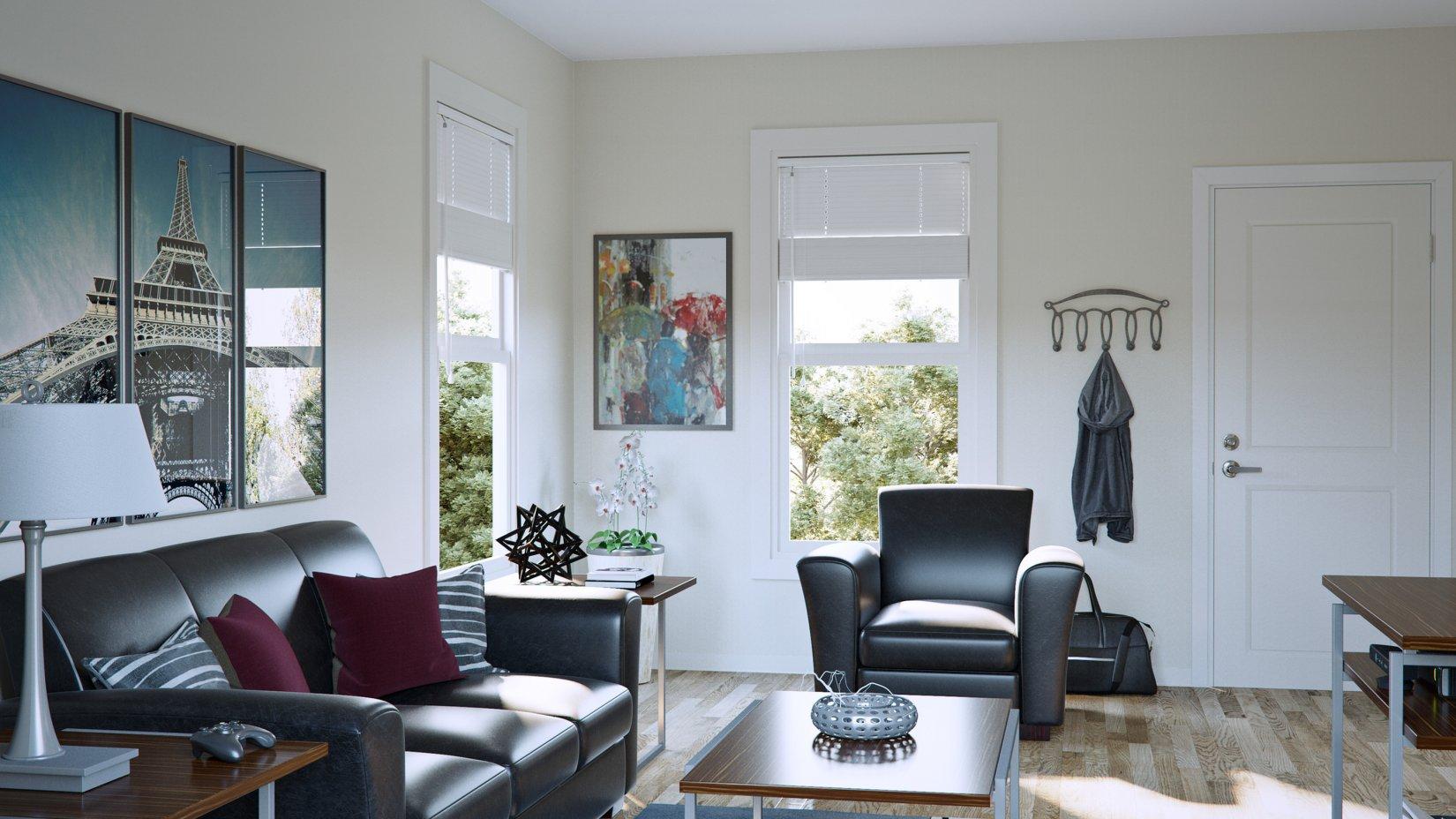 Inviting Living Area | Apartments in Oxford Ohio | Annex