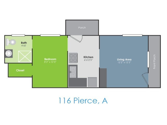Floor Plan E | Apartments in Lafayette IN | Collegiate Communities