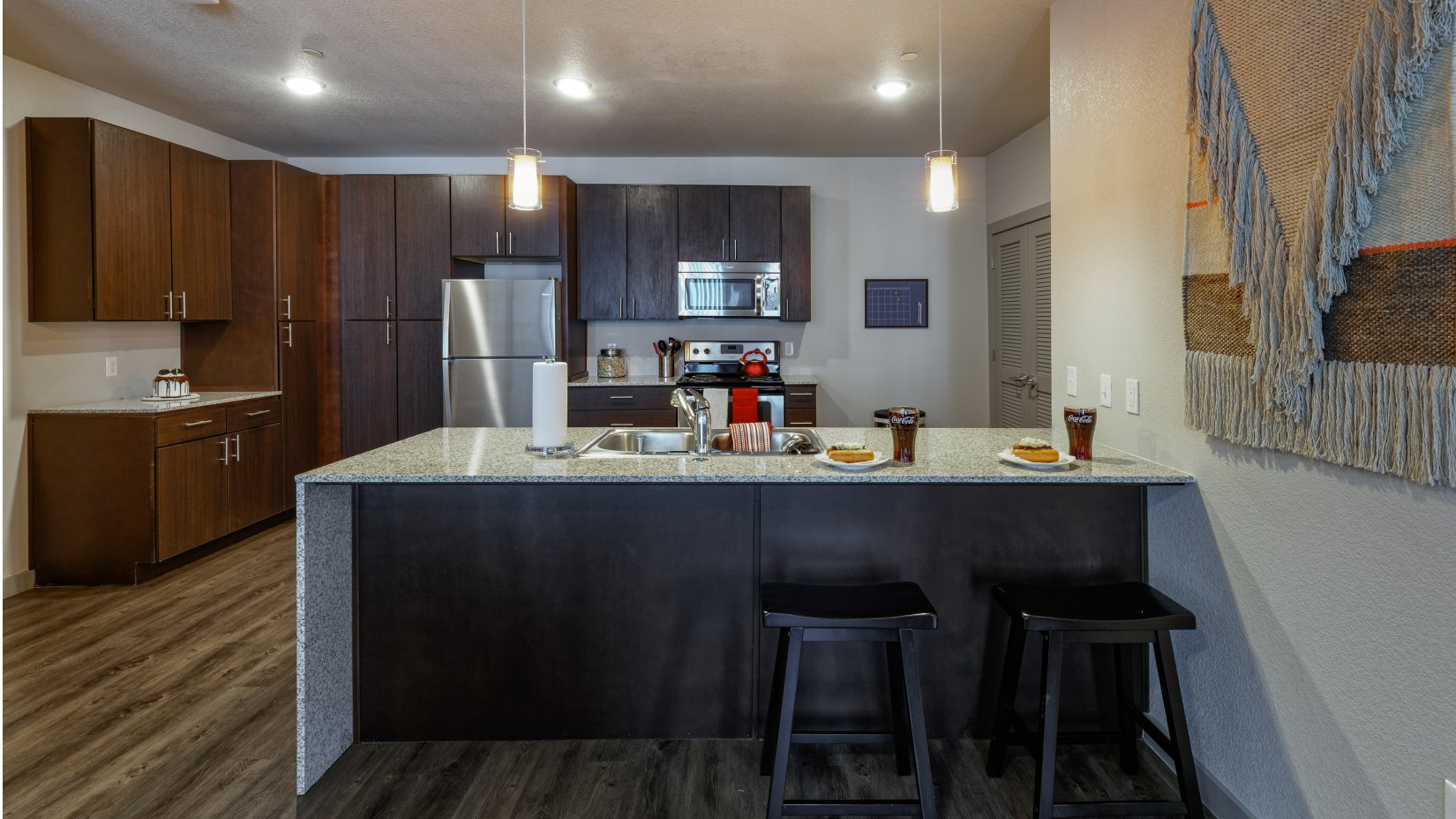 Kitchen | Apartments in Fayetteville AR | Atmosphere Apartments