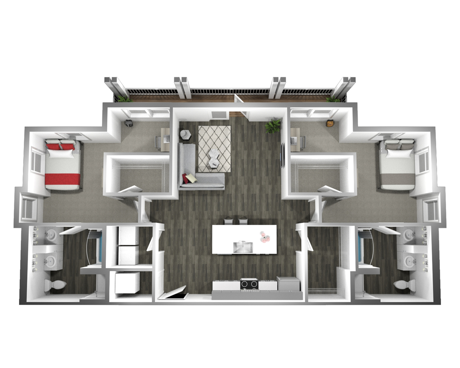 The Two Penthouse