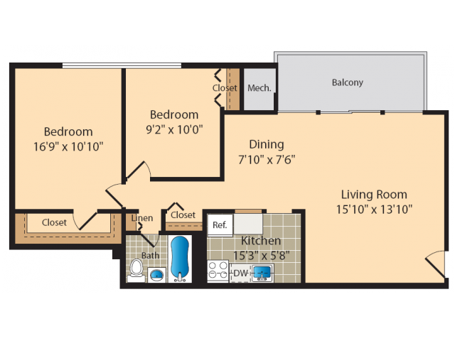 Parkland Station Apartments Perfect Andrews AFB Housing – Andrews Afb Housing Floor Plans