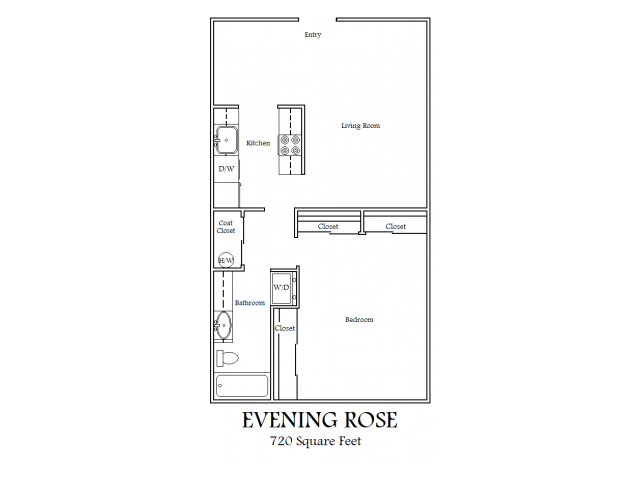 1X1 Evening Rose