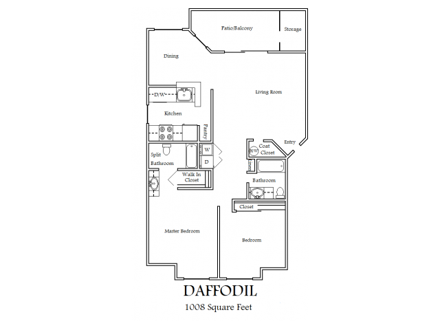 2X2 Daffodil