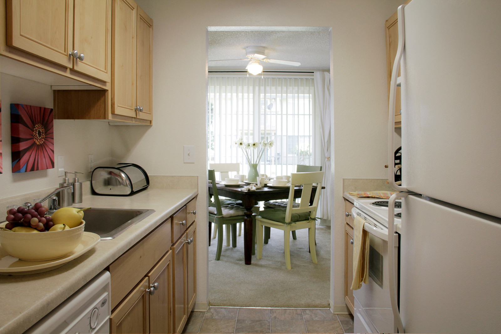 Updated kitchens | Puyallup WA Apartments For Rent | Willow Hill