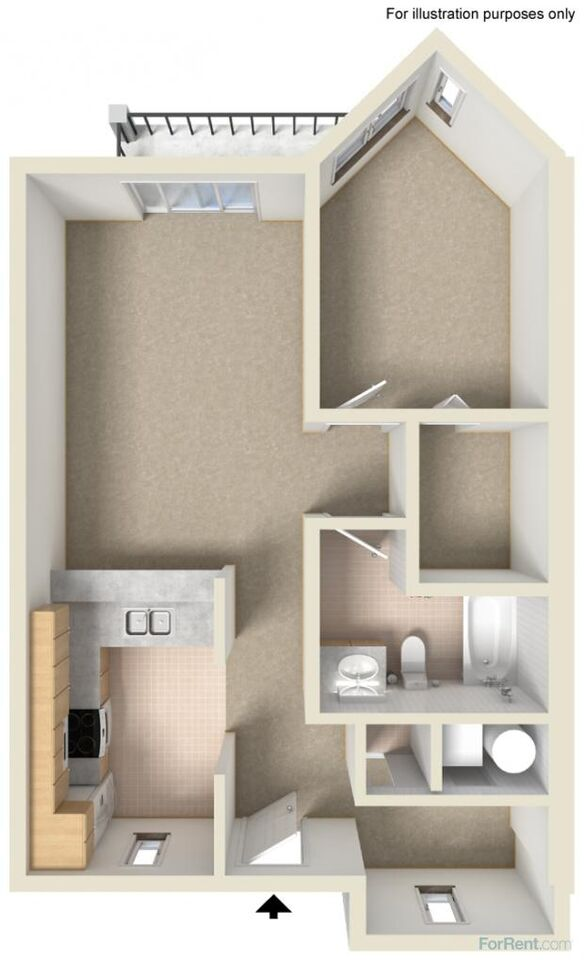 1 bedroom apartments at 6Wood Flats in Lacey, WA