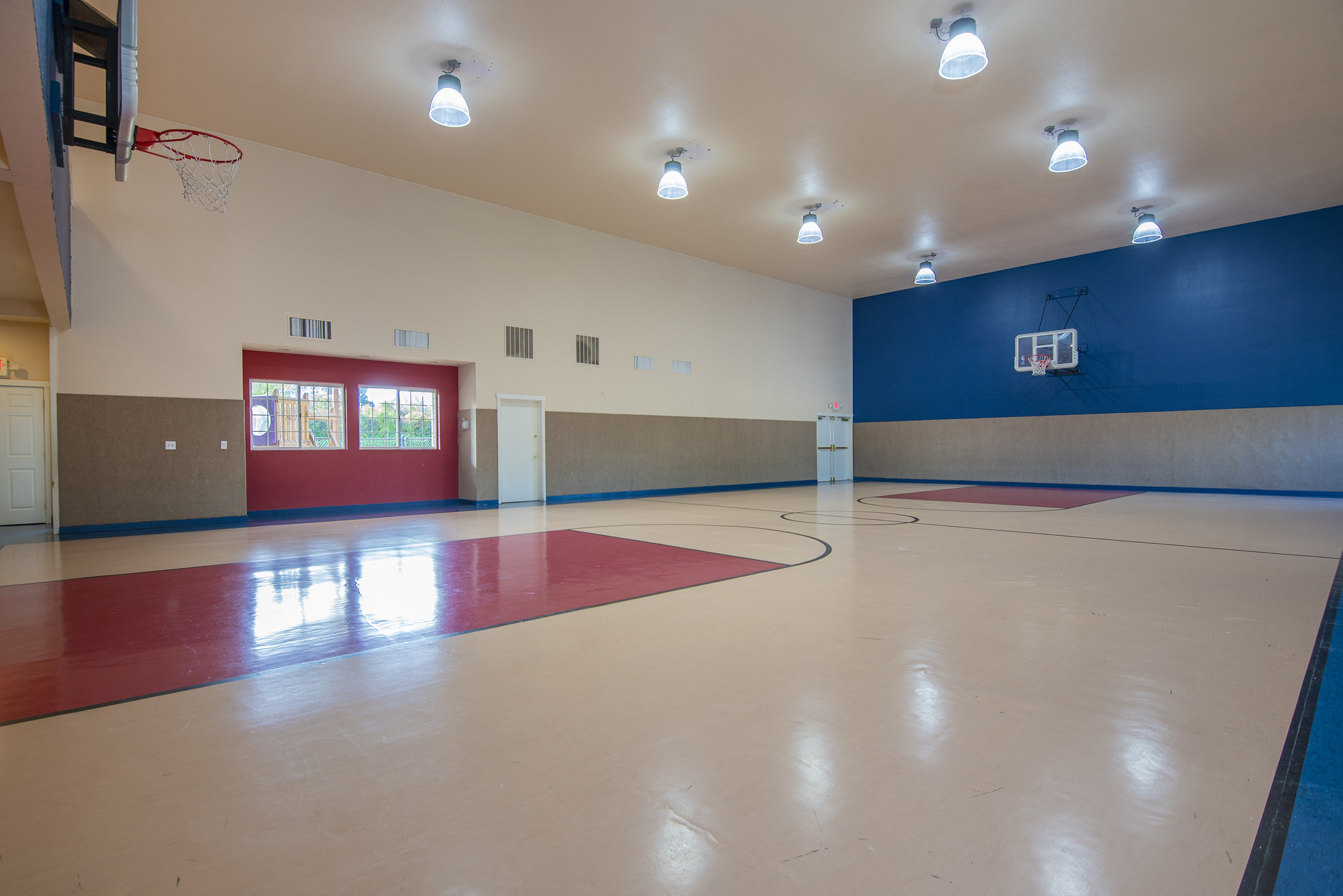 Image of Full-Sized Basketball Court & Gymnasium for Nantucket Gate Apartments