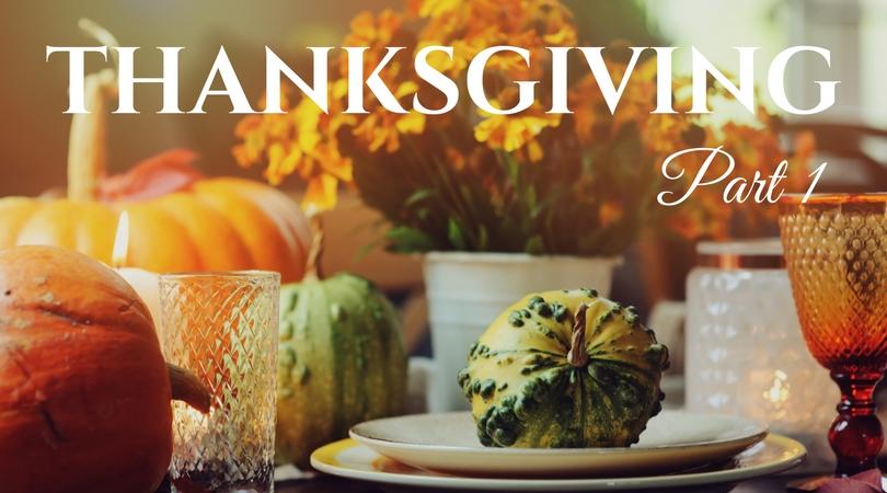 Planning Thanksgiving  Part 1-image