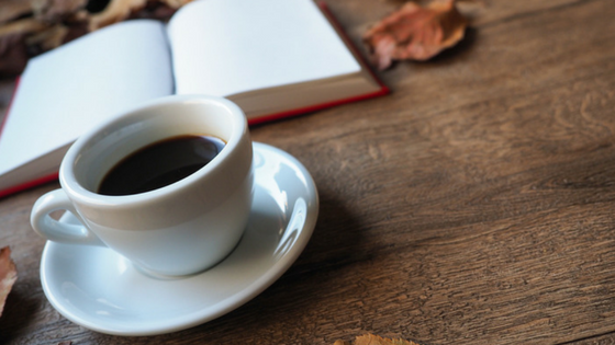 A Book and a Warm Drink-image